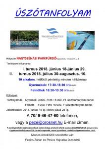 Úszótanfolyam 2018-1