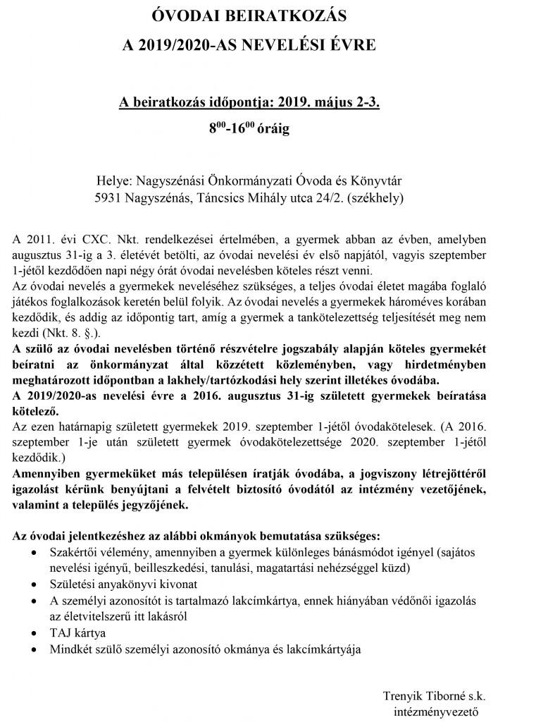 ÓVODAI BEIRATKOZÁS JPG