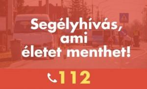 112 – tájékoztató