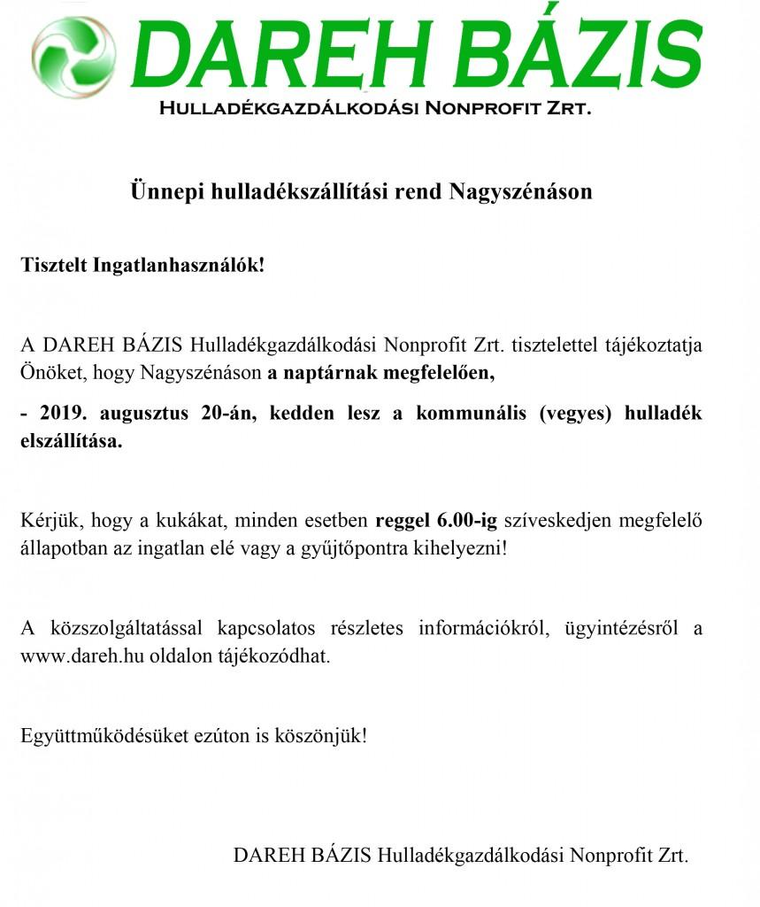 DAREH – tájékoztató