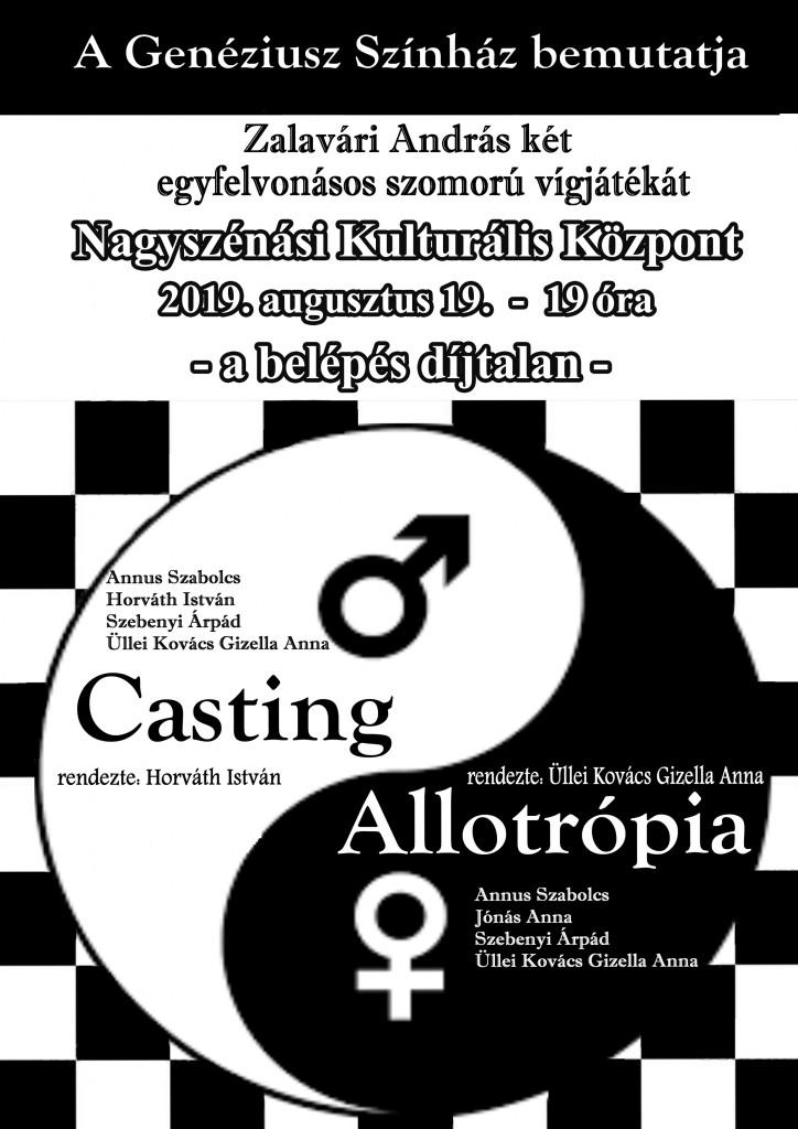 Színházi előadás – 2019. augusztus 19.