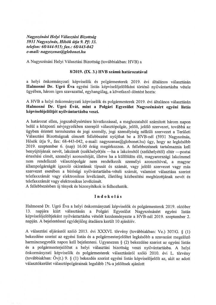 HVB határozatok-11