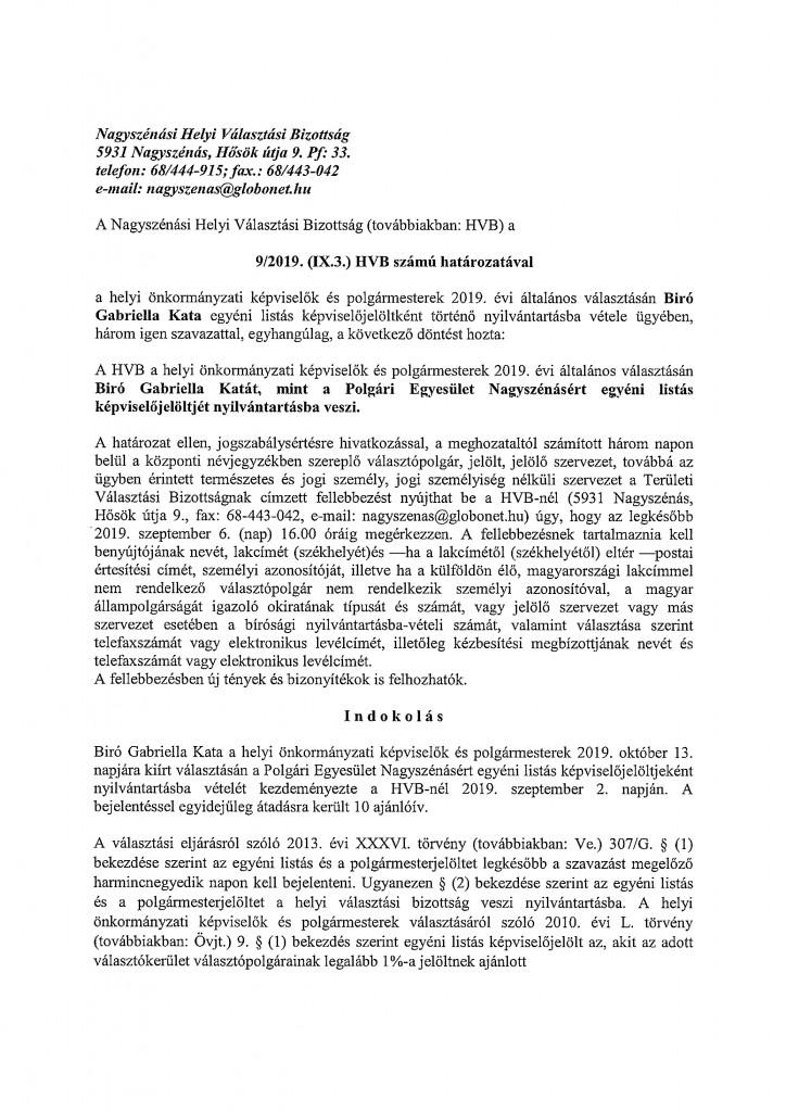 HVB határozatok-13