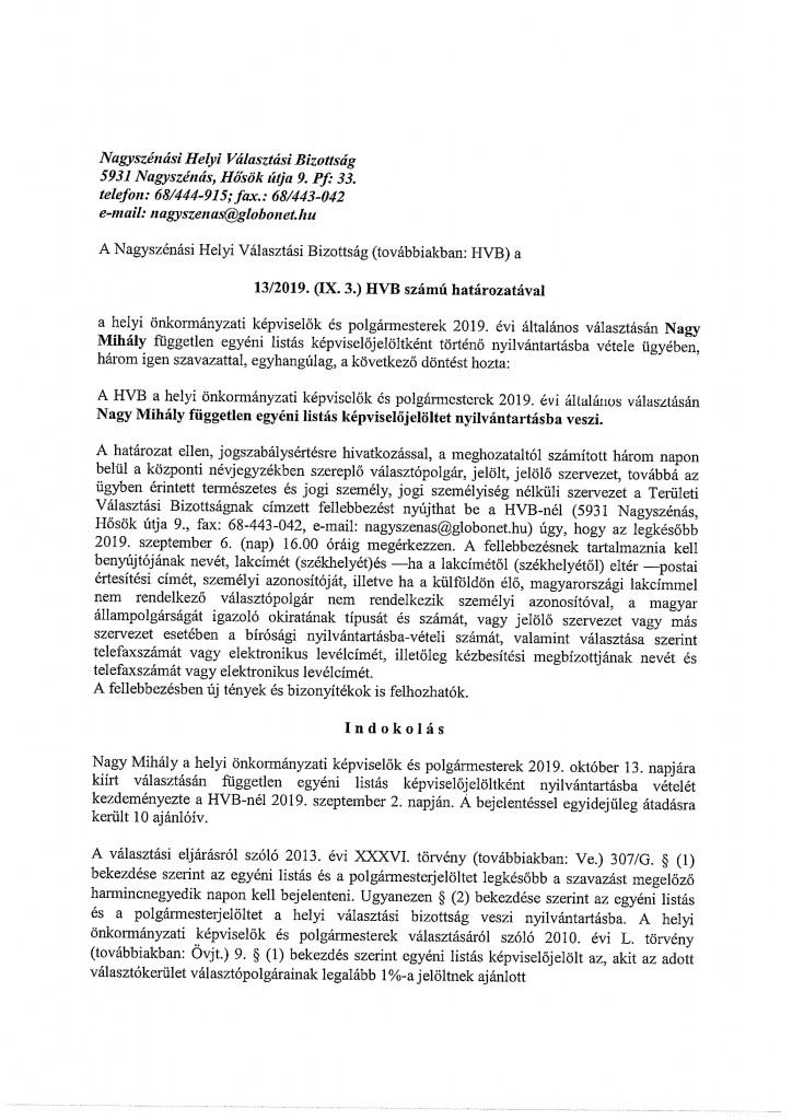 HVB határozatok-21