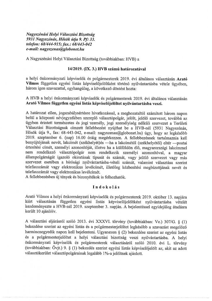 HVB határozatok-23
