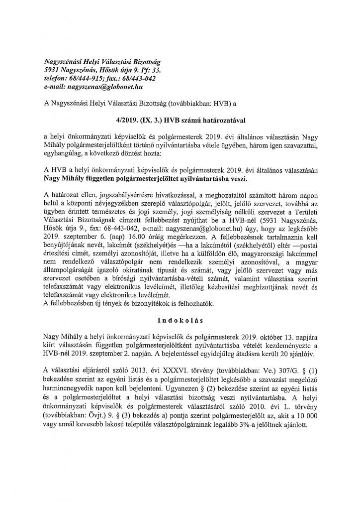 HVB határozatok-3