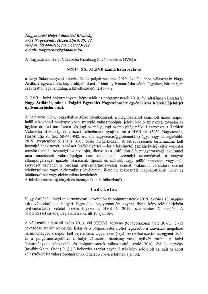 HVB határozatok-5