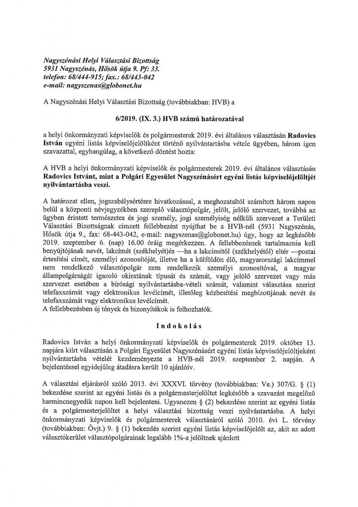HVB határozatok-7