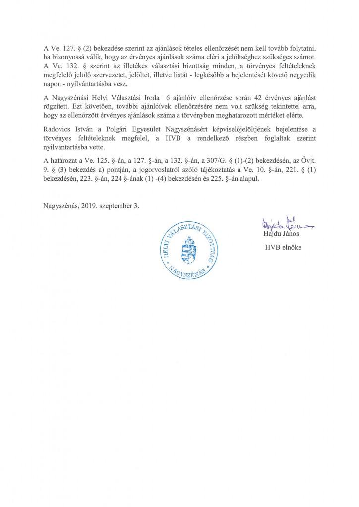 HVB határozatok-8