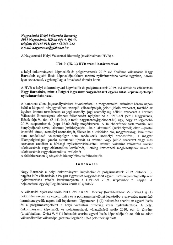 HVB határozatok-9