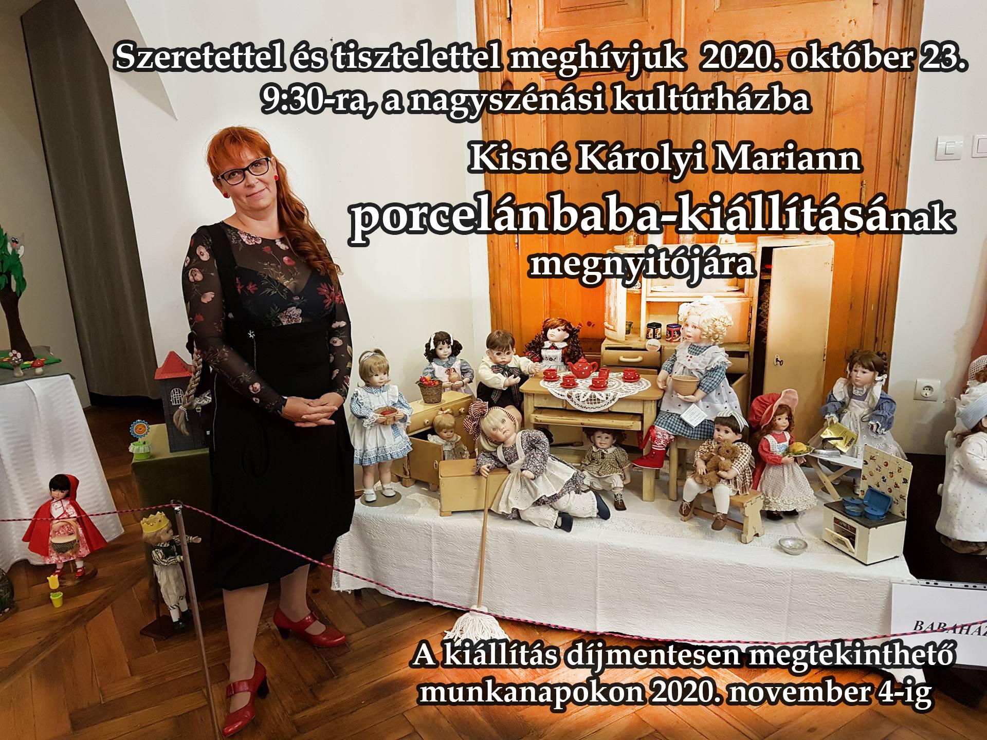 Porcelánbaba-kiállítás