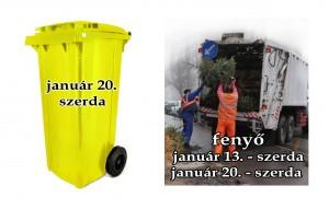 TÁJÉKOZTATÓ – hulladékszállítás