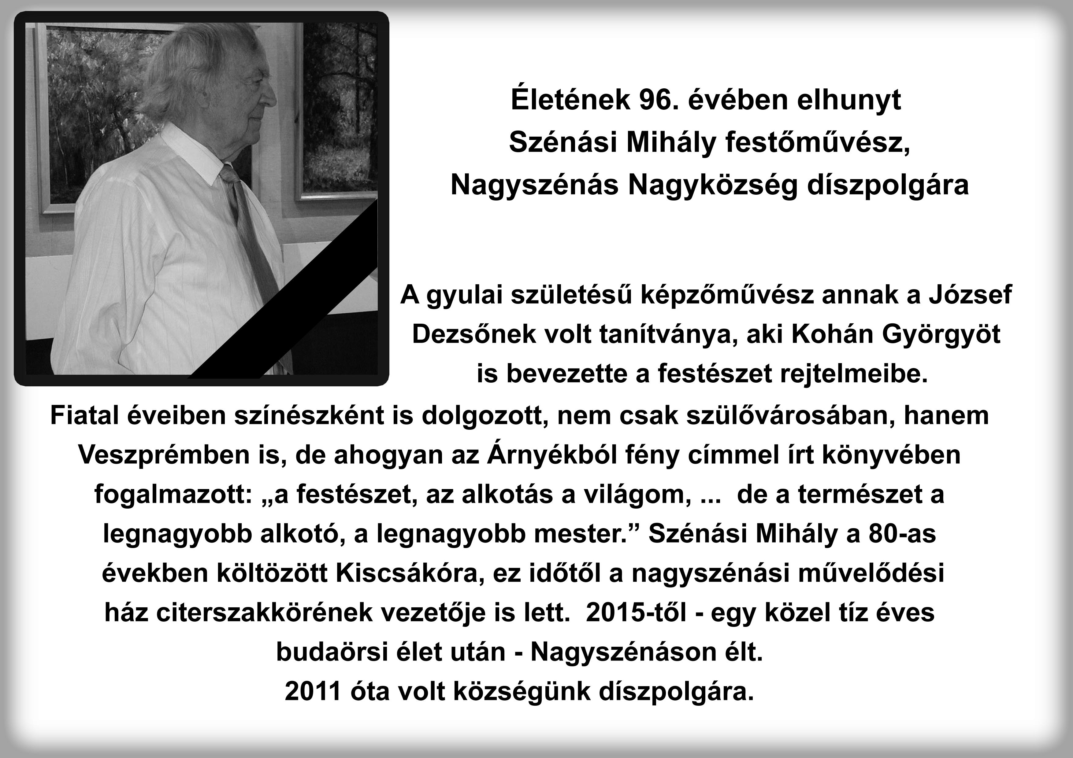 Szénási Mihály