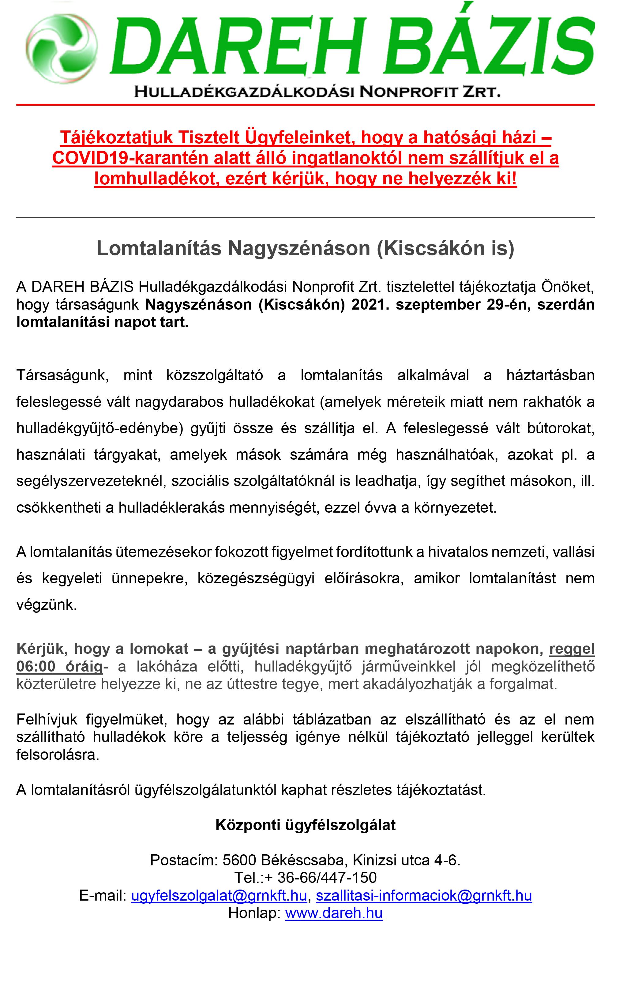 Lomtalanítás Nagyszénáson, 09.-1