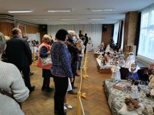 Kisné Károlyi Mariann porcelánbaba-kiállításának megnyitója - 2020. október 23.