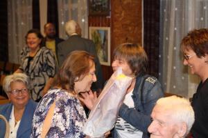 Leviczki Lenke kiállítás megnyitója